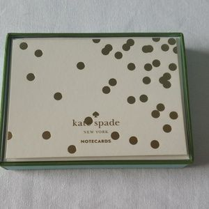 Kate spade - Confetti Dot Notecards (set of 10)
